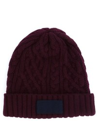 Cable knit beanie medium 841734