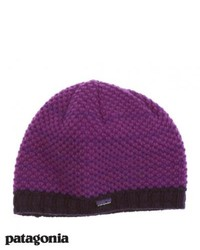 Patagonia beatrice beanie ikat purple medium 123557
