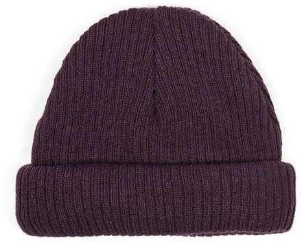 c0b3c0fb7e1 ... Topman Plum Mini Fit Beanie Hat ...