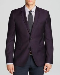 Hugo Boss Hugo Ris Textured Solid Sport Coat Slim Fit