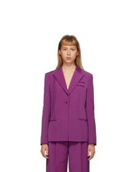 Partow Purple Easton Blazer