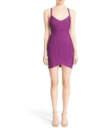 Purple bodycon dress original 1385601