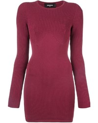 Dsquared2 Knit Bodycon Dress