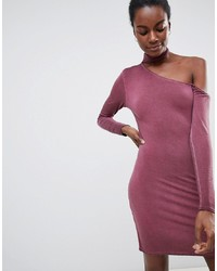 NYTT Olivia Choker Neck One Sleeved Bodycon Dress