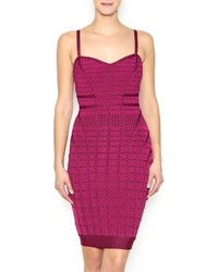 Wow Couture Gold Label Wine Stained Lips Dress
