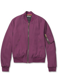 Paul Smith Padded Twill Bomber Jacket