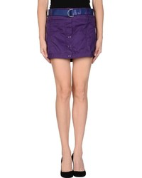 Purple button skirt original 11336902