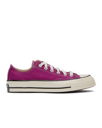 Converse Pink Chuck 70 Ox Sneakers