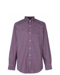 Paul & Shark Checkered Print Shirt
