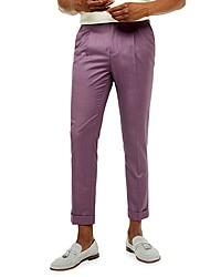 Topman Chew Skinny Fit Turnup Pants