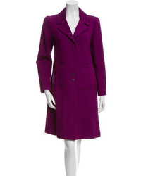 Chanel Knee Length Fitted Coat