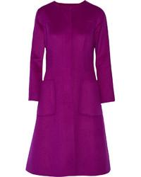 Oscar de la Renta Wool Blend Coat