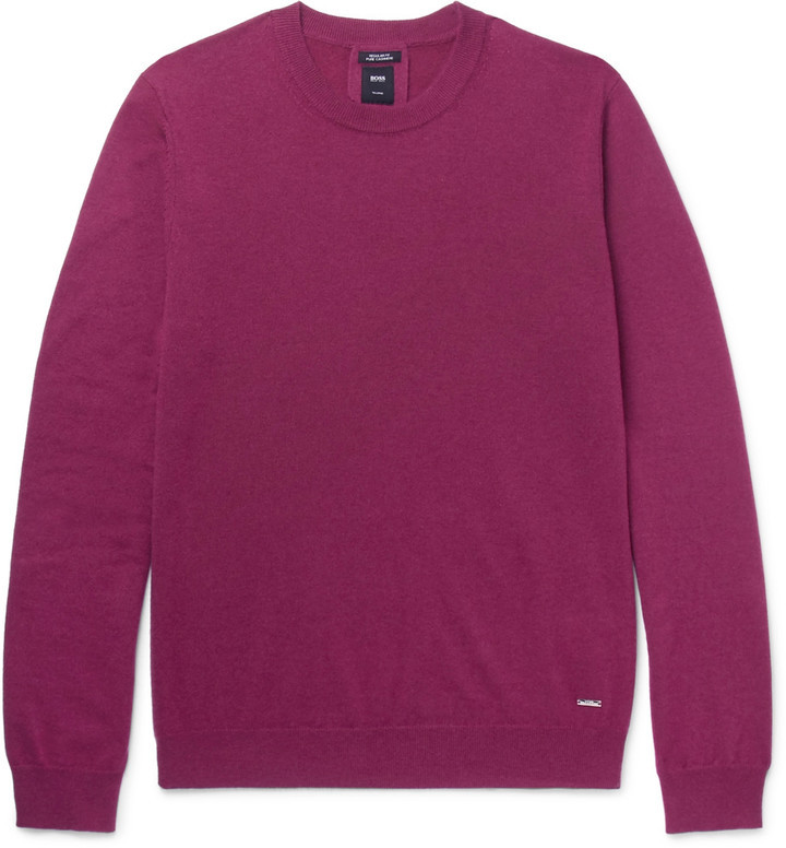 Hugo Boss Cashmere Sweater | Where to buy & how to wear
