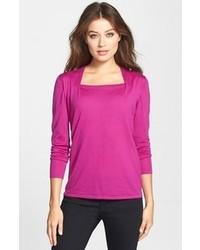 Classiques entier merino envelope neck sweater medium 92183