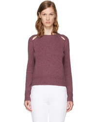 Isabel marant etoile purple klee sweater medium 4392393