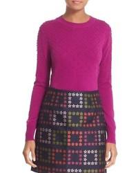Ted Baker London Sabrina Bubble Stitch Crewneck Sweater