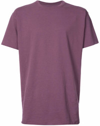 Purple Crew-neck T-shirt