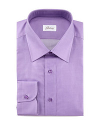 Brioni Barrel Cuff Dress Shirt Bright Purple