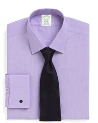 Brooks Brothers Non Iron Milano Fit Spread Collar French Cuff Dress Shirt