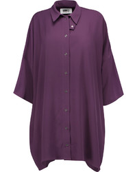 Oversized crepe shirt medium 1158556