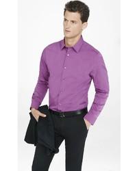 Express Slim Textured 1mx Shirt