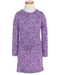 Oscar de la Renta Toddler Girls Floral Print Long Sleeve Dress
