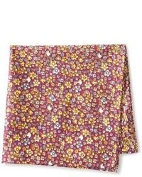 Countess Mara Floral Pocket Square