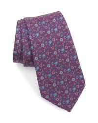 Nordstrom Seddon Floral Silk Cotton Tie
