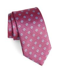 David Donahue Medallion Silk X Long Tie