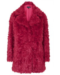 Shaggy faux fur coat medium 340772