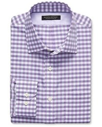 Banana Republic Classic Fit Non Iron Multi Gingham Shirt