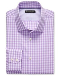 Banana Republic Slim Fit Non Iron Multi Gingham Shirt