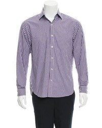 Michael Kors Michl Kors Gingham Button Up Shirt