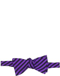 Countess Mara Tommy Stripe Reversible Bow Tie