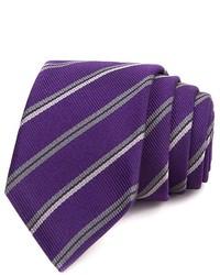 John Varvatos Jv Star Narrow Stripe Skinny Tie