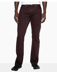 Levi's 514 Straight Fit Jeans Burntwood Wash