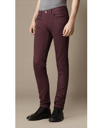 Burberry Shoreditch Purple Dyed Skinny Fit Jeans