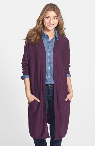 Halogen Dolman Sleeve Long Cardigan | Where to buy & how to wear