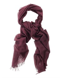 John Varvatos Wool And Silk Blend Scarf