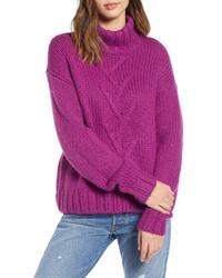 Noisy May Kira Turtleneck Sweater