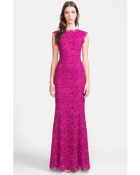 Dolcegabbana lace trumpet gown medium 133657