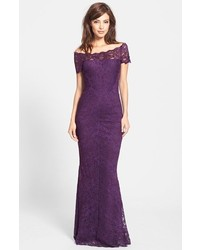 Stretch lace gown medium 144896