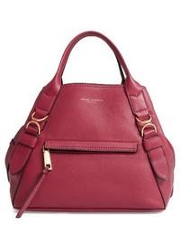 Marc Jacobs The Anchor Leather Shoulder Bag Purple