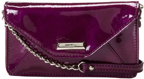 Nine West Go To Glamour Patent Slim Envelope Cross Body