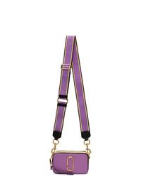Marc Jacobs Purple Small Snapshot Bag