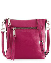 Marc Jacobs Recruit North South Leather Crossbody Bag