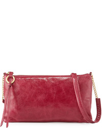 Hobo Thea Small Leather Crossbody Bag Merlot