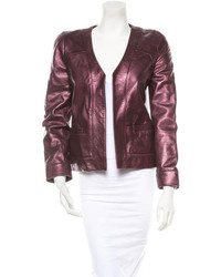 Leather jacket medium 111781