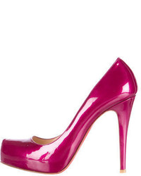 Christian Louboutin Rolando Patent Leather Pumps