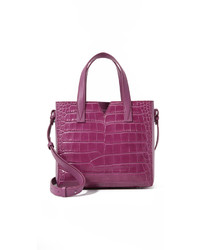 Croc embossed baby tote medium 529335